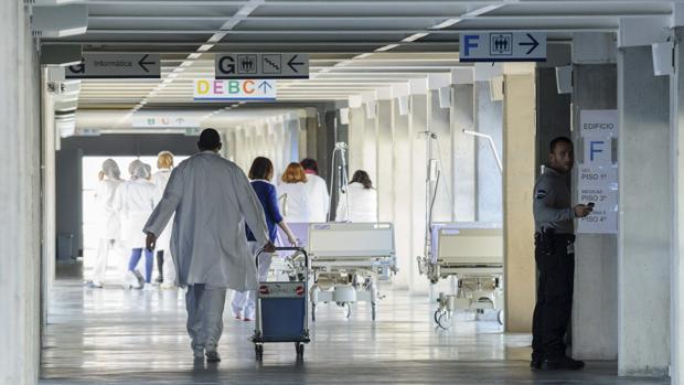 Pasillos del Hospital Can Misses de Ibiza