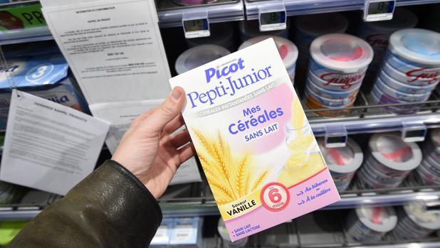 Producto de Lactalis en los supermercados franceses