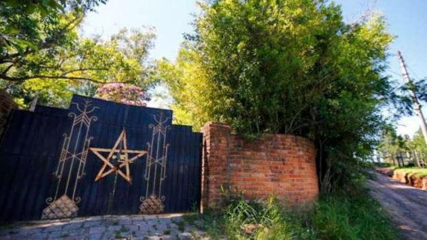 Finca en la que se habría producido el ritual satánico en Novo Hamburgo, Río Grande del Sur