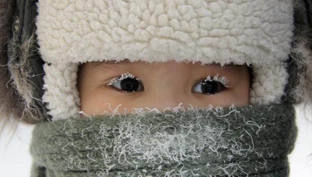 Un niño de Yakutia