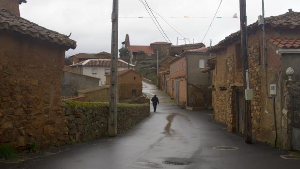 Vista del pueblo zamorano de Villageriz. Esta fue la provincia más castigada por la despoblación en el último año