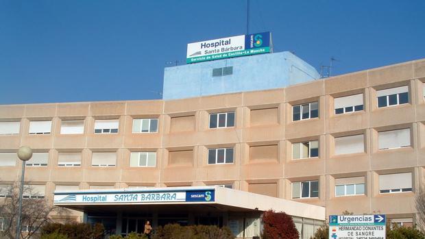 Hospital de Puertollano, donde se ha denunciado la contratación de ginecólogos sin la titulación