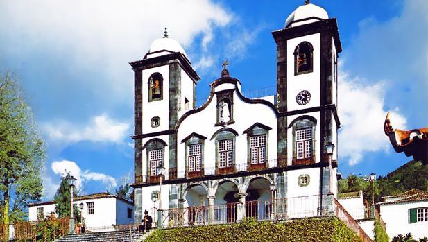 Iglesia de Nuestra Señora del Monte en Funchal