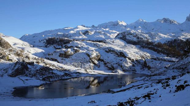 Lagos de Covadonga, en el parque Nacional de Picos de Europa