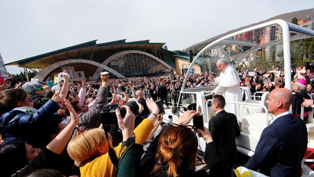 El Papa este sábado