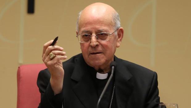 El presidente de la Conferencia Episcopal Española, el cardenal Ricardo Blázquez