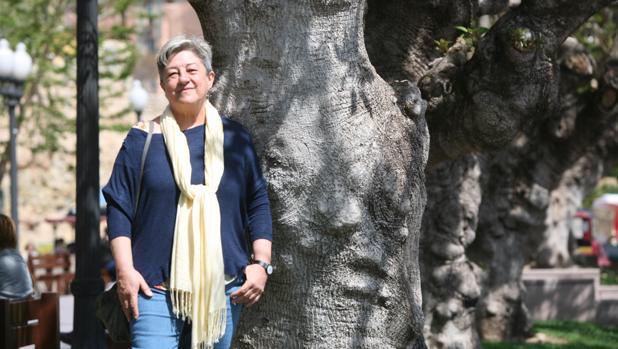 Manola Brunet, investigadora, posa en Tarragona ayer