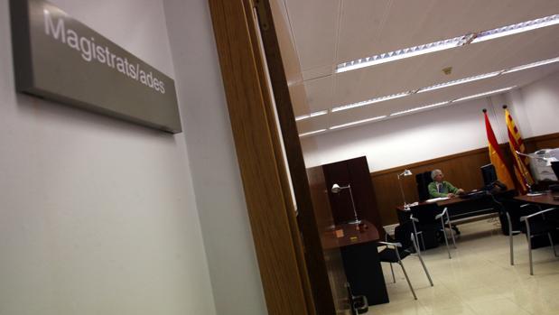 Instalaciones de la Audiencia de Barcelona
