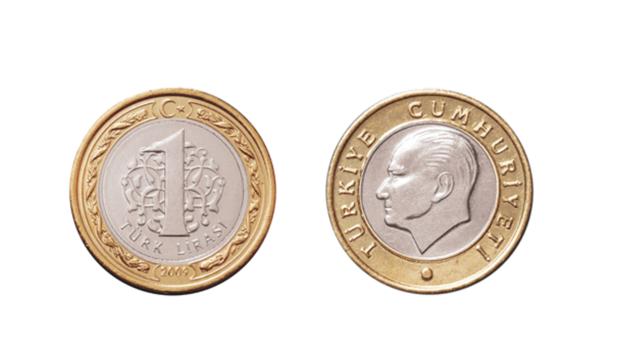 Una lira turca puede confundirse con un euro pero vale cinco veces menos