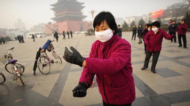 Episodio de alta contaminación en China