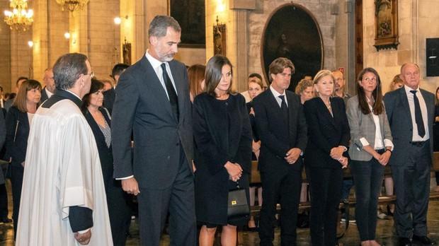 Los Reyes presiden en Mallorca el funeral por las víctimas de las inundaciones