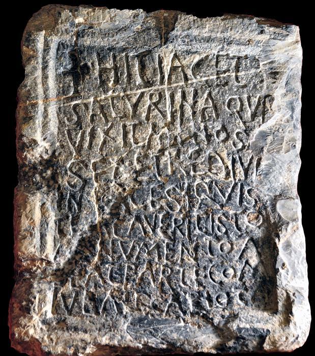 Lápida de Saturina