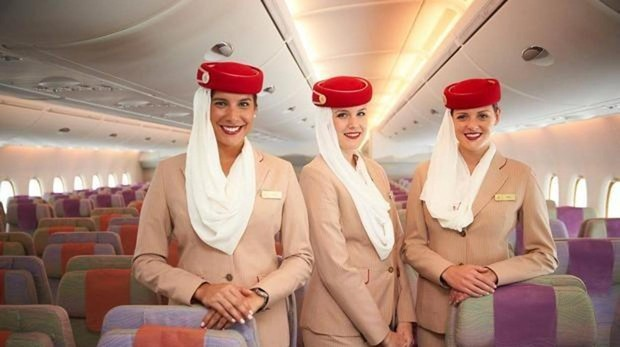 Azafatas de Emirates