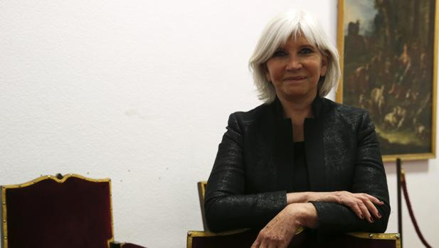 Laurence Tubiana, ayer en Madrid