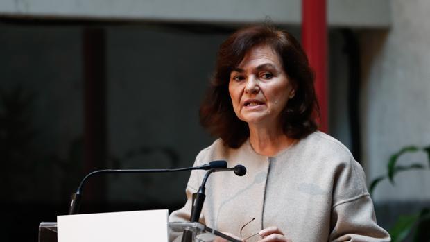 Calvo defiende que la «Ley Celaá» corrige el «déficit en la orientación educativa de las niñas»
