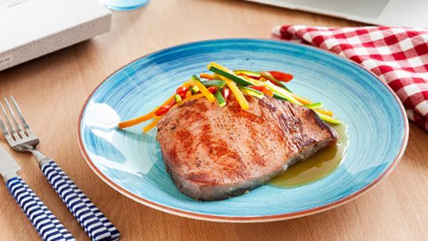 Uno de los platos de Wetaca