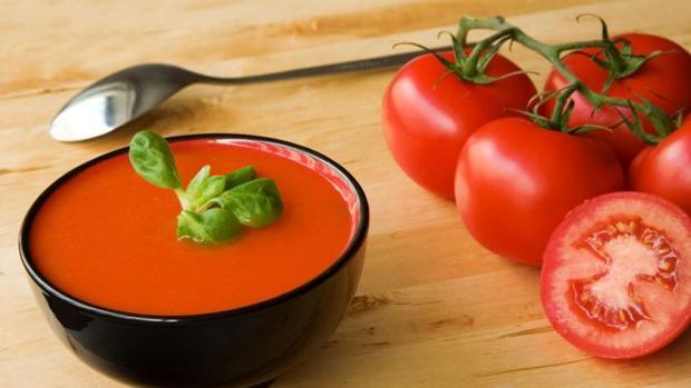 El gazpacho concentra lo mejor de la dieta mediterránea