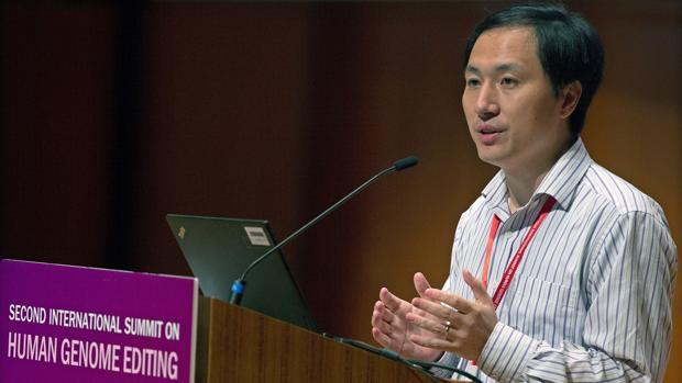 He Jiankui, en una imagen de archivo