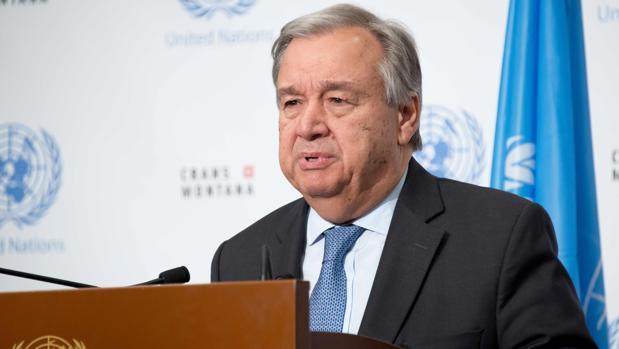 El secretario general de la ONU, António Guterres, en una imagen de archivo