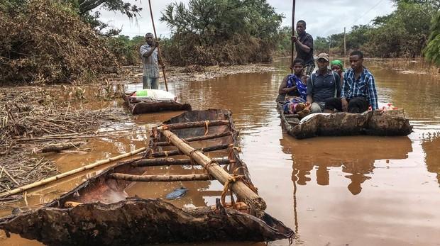 Ascienden a más de 200 los muertos causados por el ciclón Idai en Mozambique