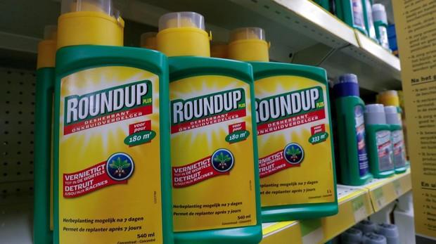 RoundUp, herbicida con glifosato