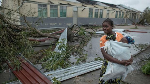 Unas quinientas mil personas están afectadas por los efectos del ciclón