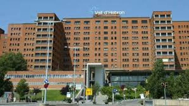 Fachada del Valle de Hebrón uno de los hospitales de referencia de Cataluña