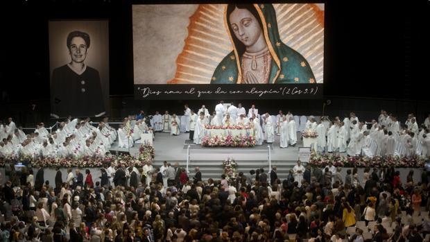Ceremonia de Beatificación en el Palacio Vistalegre de Madrid