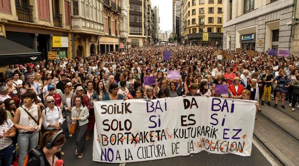La completa descripción que dio la víctima en Bilbao facilitó la detención exprés de sus seis violadores