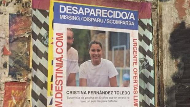Polémica por una plataforma de viajes que imita carteles de desaparecidos para promocionarse