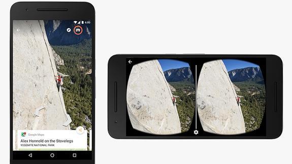 Google Street View se hace realidad virtual