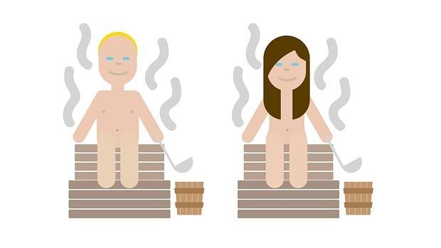 Los emojis de la sauna