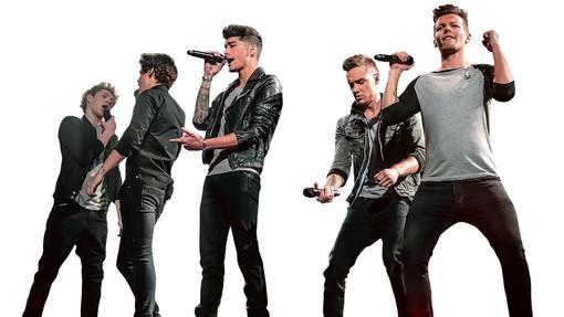 De la izquierda, Niall Horan, Zayn Malik, Harry Styles, Liam Payne y Louis Tomlinsonin