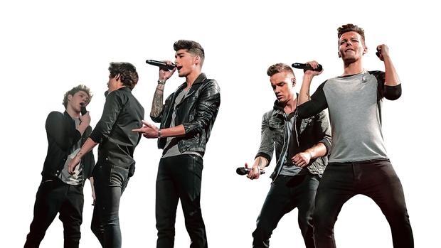One Direction, banda británica, en una imagen promocional