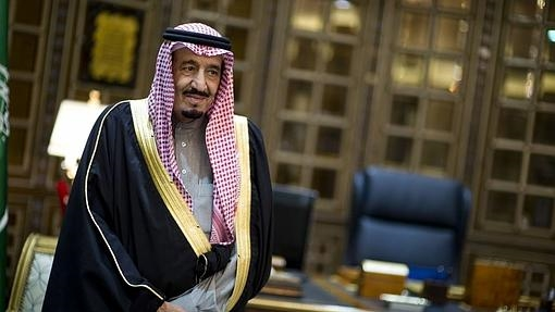 Elñ rey Salman, en una imagen de archivo