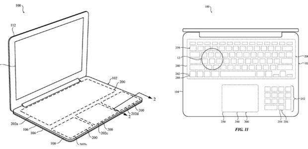 Detalle del boceto descrito por la patente recibida por Apple