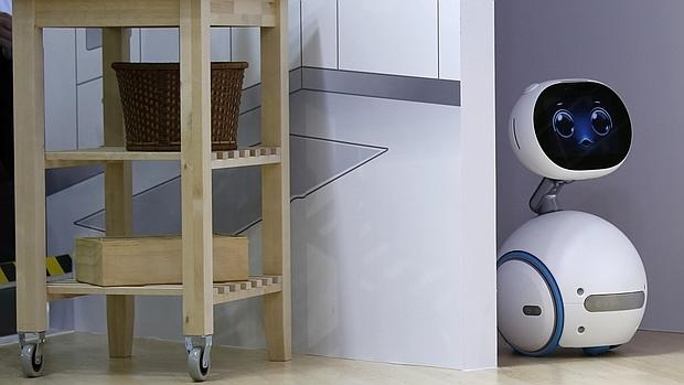 Detalle de Zenbo, el primer robot doméstico de la firma Asus