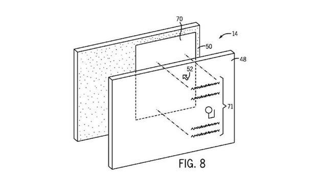 Detalle de la patente presentada por Apple