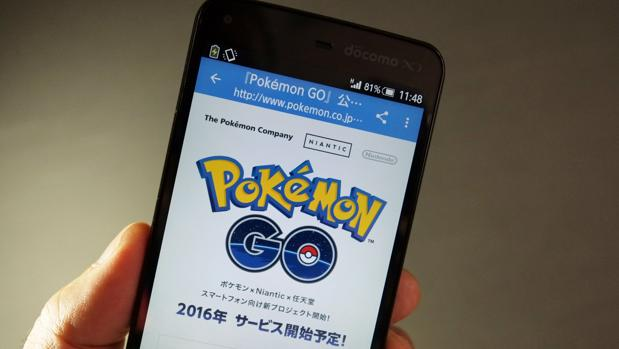 Pokémon GO es una aplicación de realidad aumentada que está causando furor