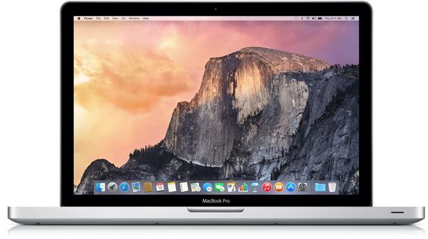 Detalle del MacBook Pro de la compañía norteamericana
