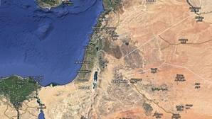 Google Maps borra a Palestina del mapa