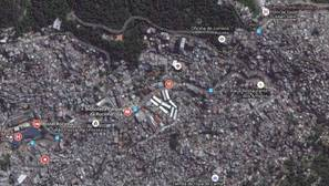 Google Maps muestra por primera vez las favelas de Río de Janeiro
