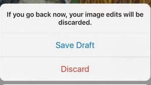 Instagram permitirá guardar imágenes no publicadas