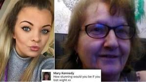 El cruel comentario de una «adorable ancianita» a su nieta por Facebook