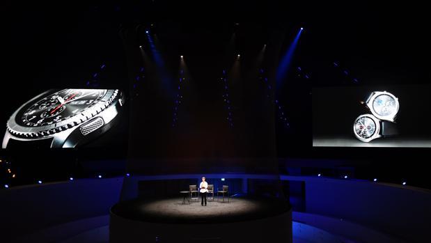 Younghee Lee, de Samsung, ha presentado el Samsung Gear S3 en IFA