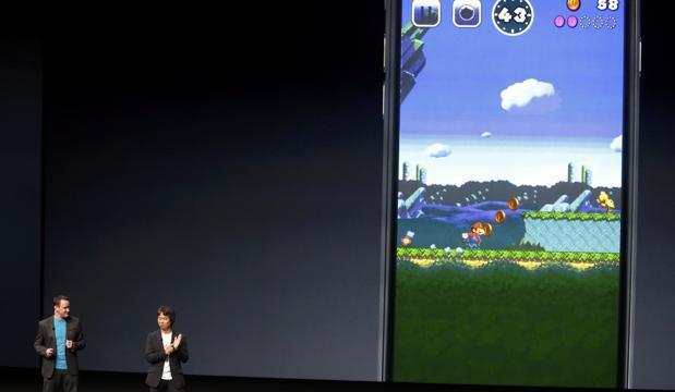 Shigeru Miyamoto ha presentado la llegada de Mario a Apple