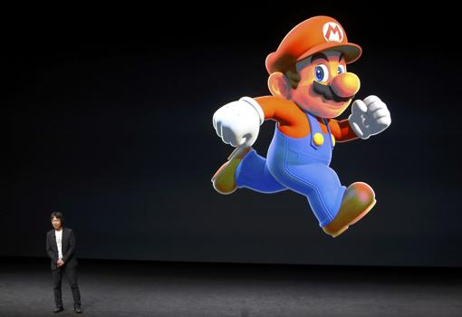 El creador japonés de videojuegos Shigeru Miyamoto