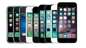 Evolución: así ha cambiado el iPhone en su historia