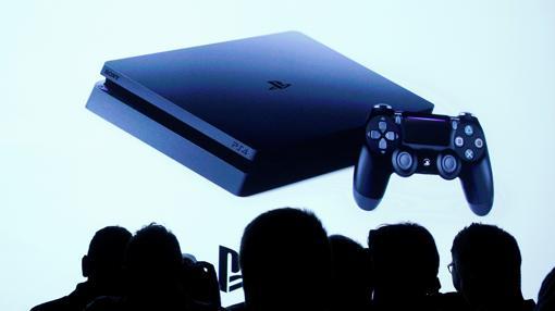 Detalle de la PlayStation Slim