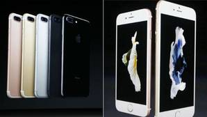 Comparativa: iPhone 7 frente al iPhone 6S